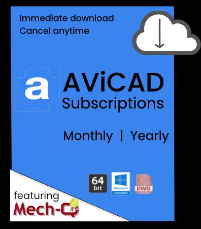 AViCAD Subscriptions